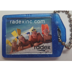 Mini Keytag with Photo/Imprint (600DP)