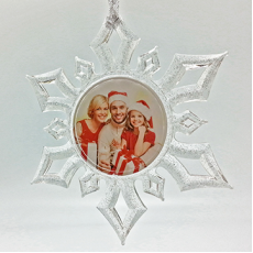 Snowflake Ornament 2-1/4