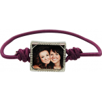 Elastic Band Photo Bracelet